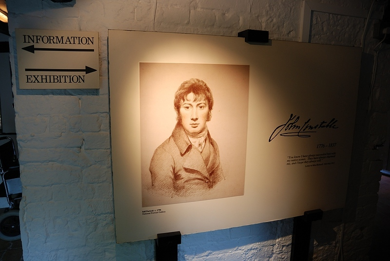 Exhibition in John Constable house, area of Suffolk