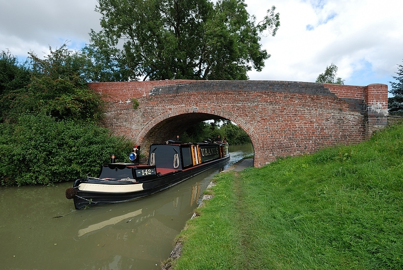 Candle bridge in Blisworth, Grand Union Canal