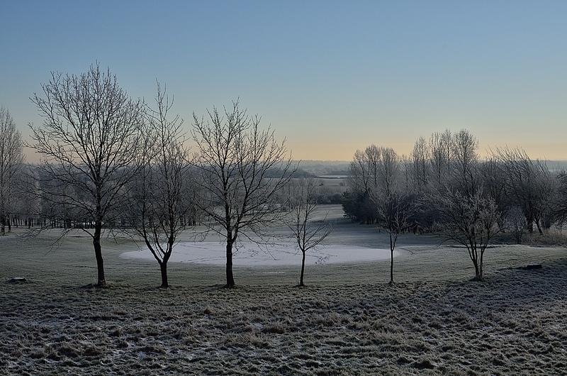 Golf course in Bar Hill, Cambridgeshire