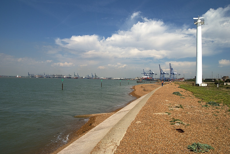 Port in Felixstowe
