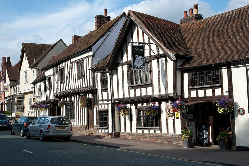 Medieval house in Lavenham