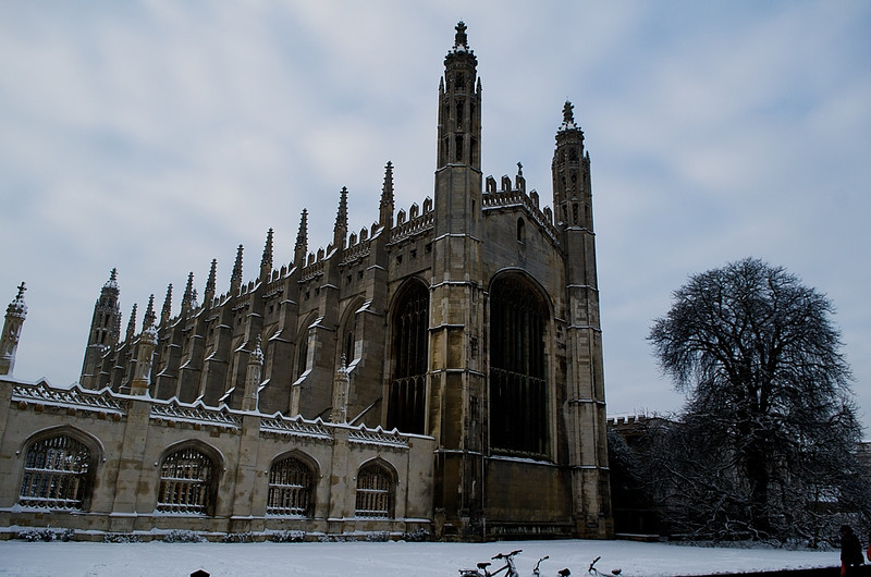 King's College Chapel in winter 2013, Cambridge