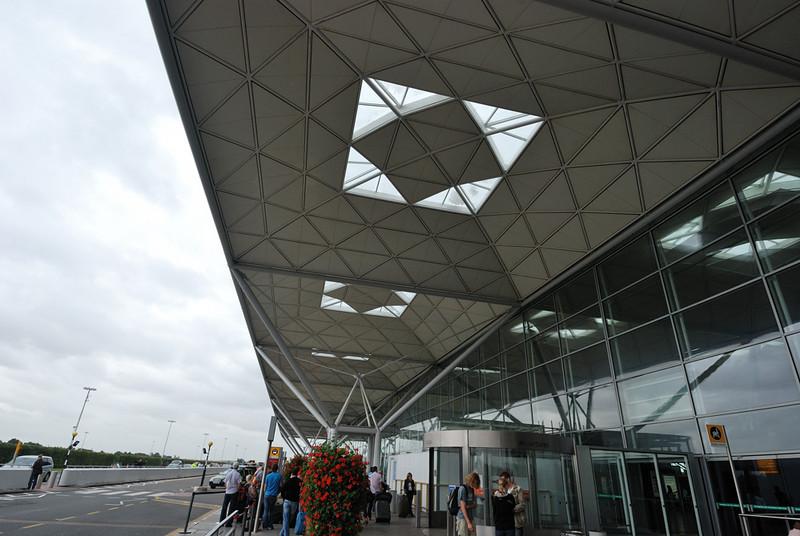 Letiště ve Stanstedu