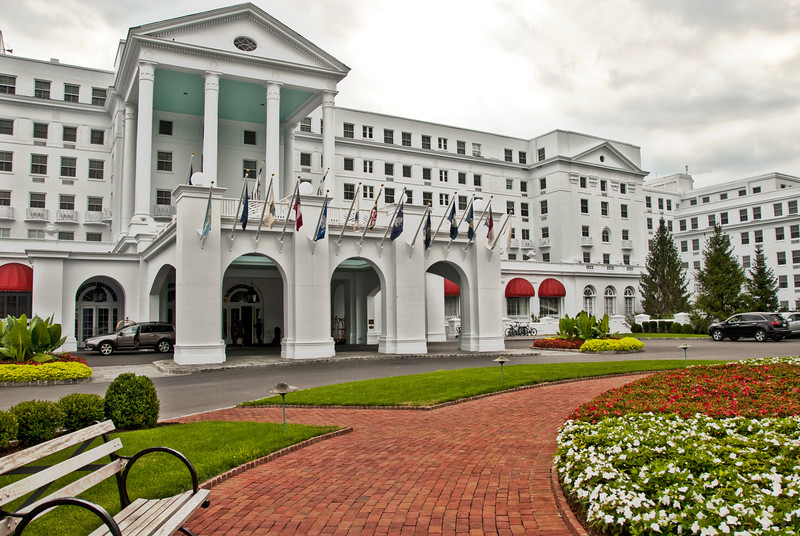 The Greenbrier Hotel in White Sulphur Springs, WV
