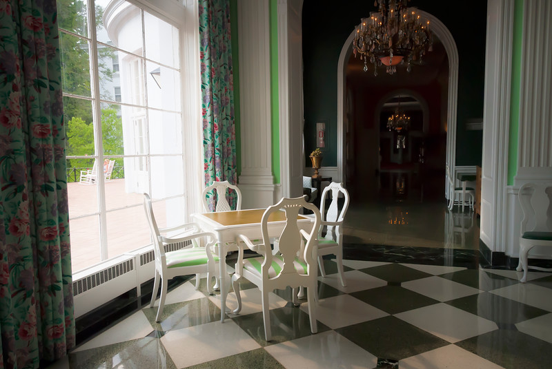 Inside the Greenbrier Hotel