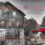 The Red Covered Bridge Back In The Day