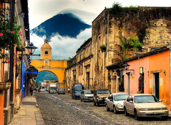 Arch of Santa Catalina, Antigua
