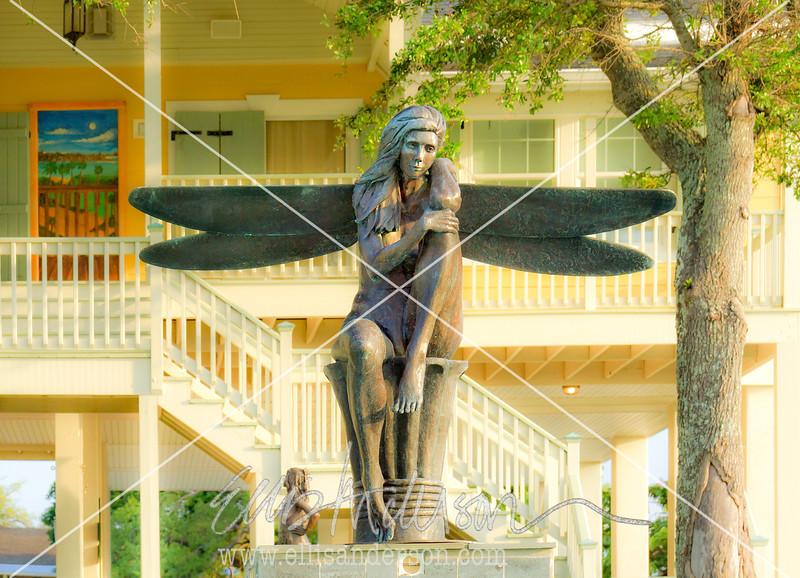 Eustis sculpture Waveland 8754 FN