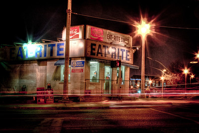 Route 66 Roadside Attraction, EAT-RITE Diner, St. Louis, MO
