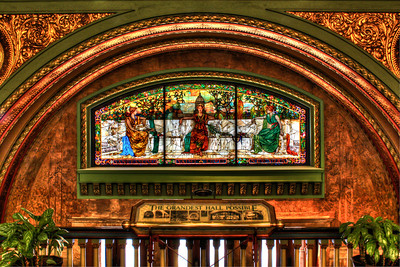 St. Louis Union Station, Allegorical Window
