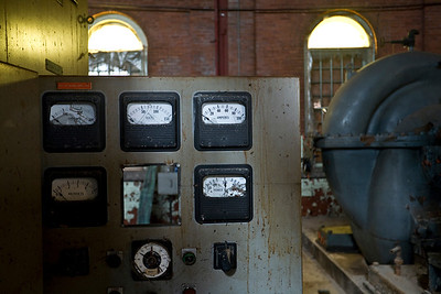 Controls for the #14 and #15 pumping engines.