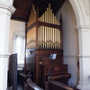 The Nicholson organ dated 1869, a lovely instrument.