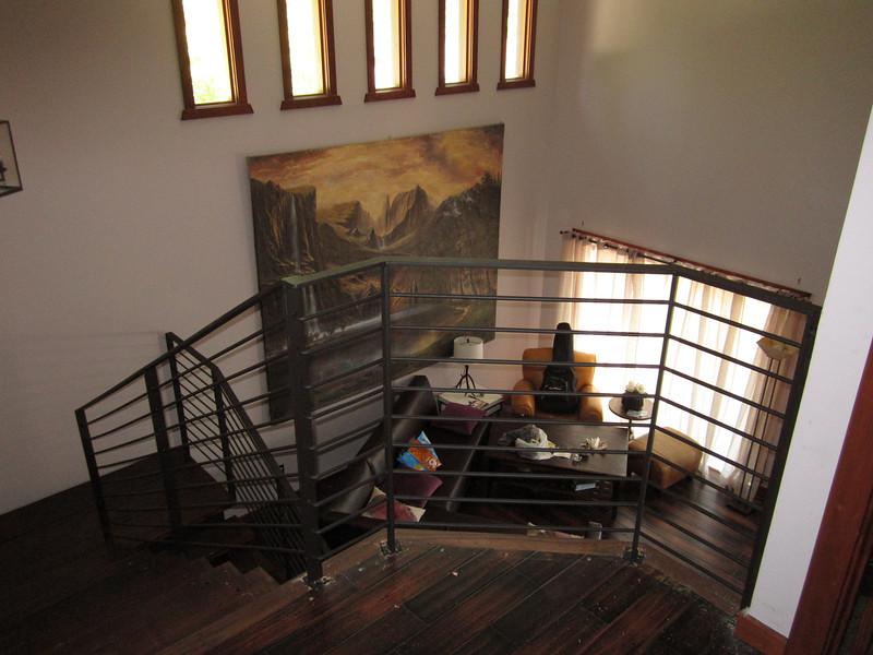 Stair rail - Burnetto residence, Pasadena, CA