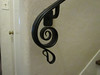Curved handrail detail - Grand Ave., South Pasadena, CA