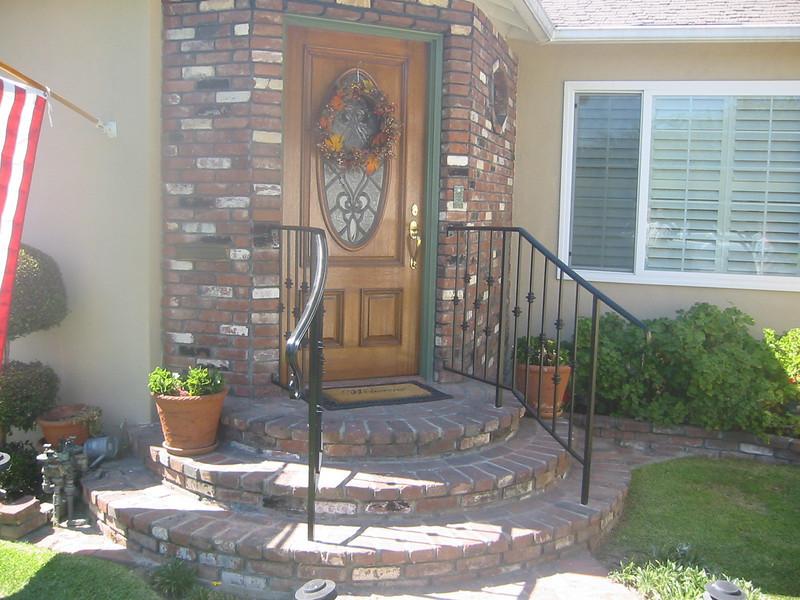 Handrail - Brione residence, Monrovia, CA