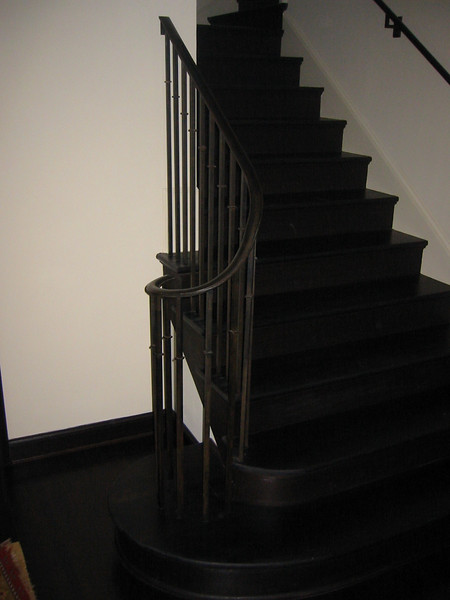 Stair rail - King residence, Pasadena, CA