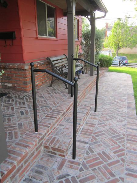 Handrail - Geary residence, Burbank, CA