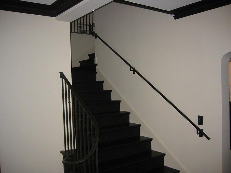 Main stairway - King residence, Pasadena, CA