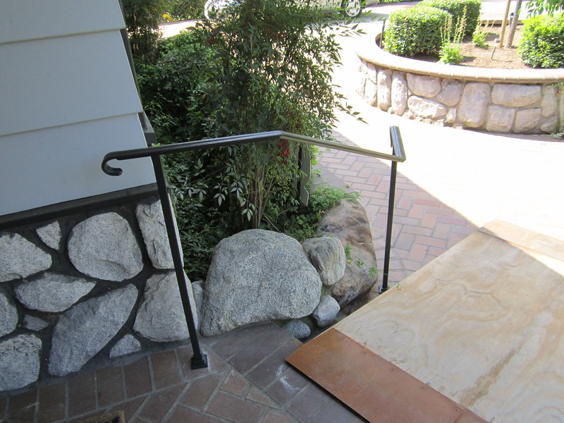 Front porch rail - Arcadia, CA