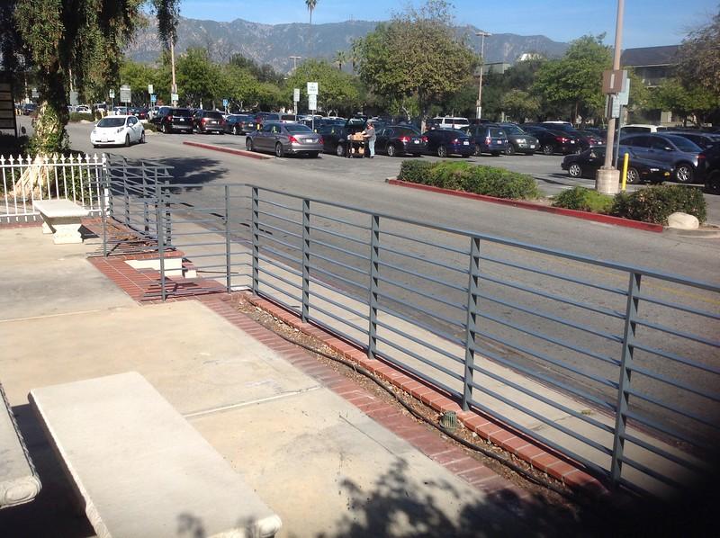Handrail; 388 S. Lake Ave, Pasadena, CA (Shopper's Lane)