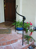 Front porch rail - Meyers Residence, San Marino, CA