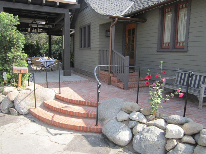 Handrail - Raymond Restaurant, Pasadena, CA
