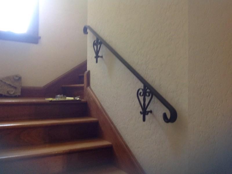 Handrail recreation, Sierra Madre, CA