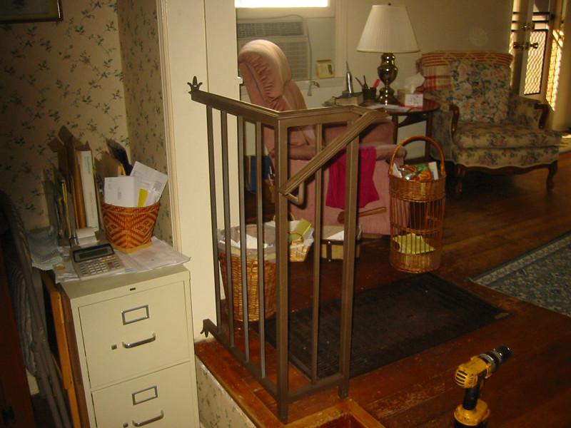Handrail - Yule residence