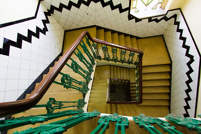 ~~ Yellow Stairs - top-down ~~