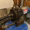 Pump with outlet plumbing removed.