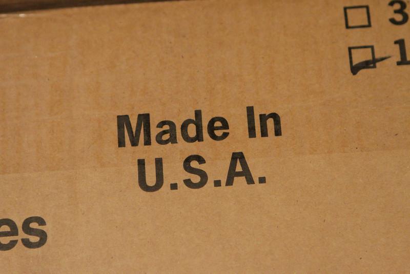fabriqué aux Etats-Unis!  Nice!