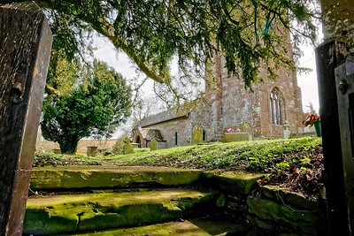 Ste Dubricius Church, Hentland, Herefordshire