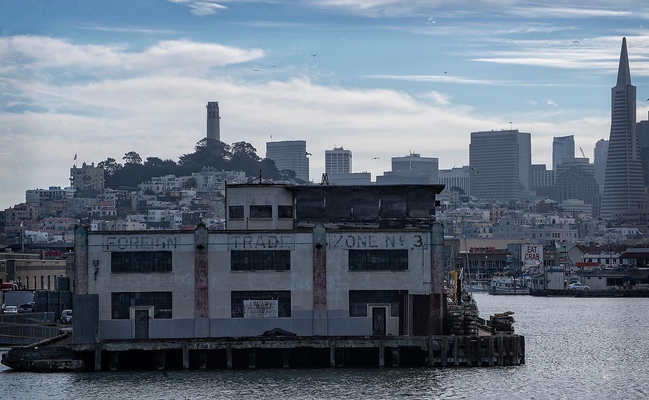 San Francisco Wharf, Coit & Pyramid Bldgs