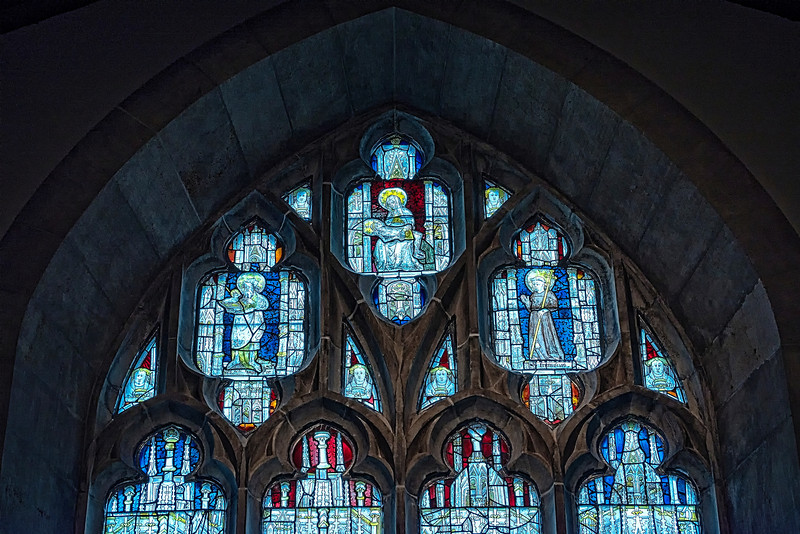 Church Stainglass Art