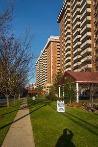 Apartment Blocks along Prospect Ave