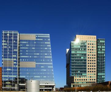 Cold Seaport Buildings