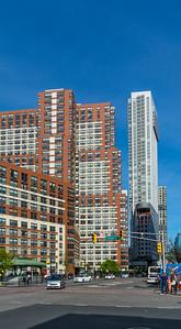 Tall Buildings along Columbus Drive