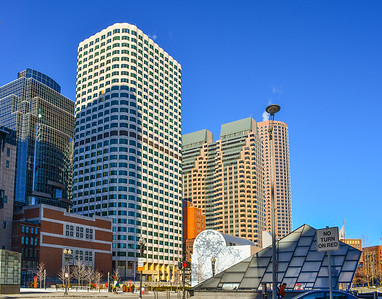Skyscrapers of South Station