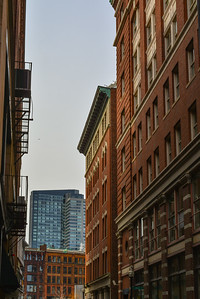 Skyscrapers and Post war Architecture meet in Downtown Boston