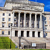 """Northern Ireland Parliament Buildings, Stormont, County Down.<br /> <br /> Parliament Buildings is home to the Northern Ireland Assembly, the legislative body for Northern Ireland established under the Belfast Agreement 1998 (Good Friday Agreement).<br /> <br /> Built in 1921 at a cost of nearly £1.7 million, it was designed to house the newly formed Government of Northern Ireland and was officially opened on 16th November 1932 by the then Prince of Wales, on behalf of King George V.<br /> <br /> Source: <a href=""""http://www.discovernorthernireland.com/Parliament-Buildings-Stormont-Belfast-P3060"""">http://www.discovernorthernireland.com/Parliament-Buildings-Stormont-Belfast-P3060</a>"""