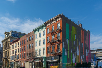 Historic Buildings on 6th Street in Williamsburg - Brooklyn,New York