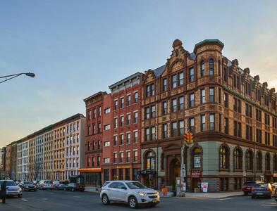 Early Evening along Washington Street in Hoboken