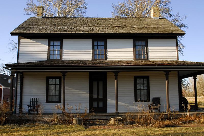 Gibbs Farmhouse - St. Paul, MN (1867)