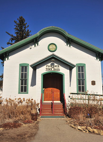 Florance Township Hall - Frontenac Station