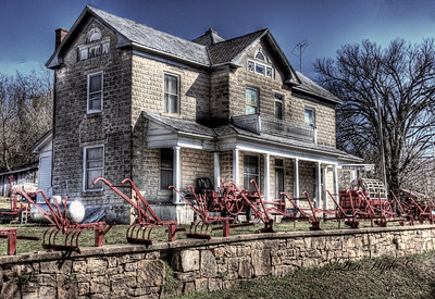 Columbus-Hackett House - Leslie, AR