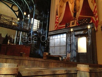 President Lincoln booth at Fords theater