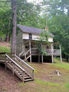 Robert E Lee's fathers house in lost River state park