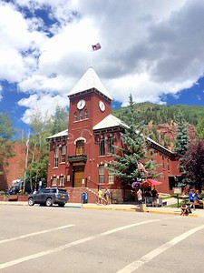 County court house in Telluride CO