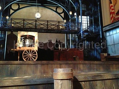 Christmas carol stage at fords theater