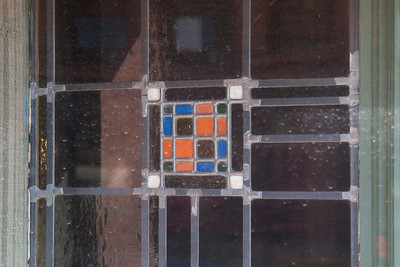 Office window stained glass